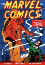 Marvel Comic Vol-1 in October 1939